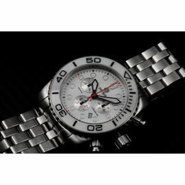 SEA RAM CHRONOGRAPH - WHITE/BLACK-BLACK