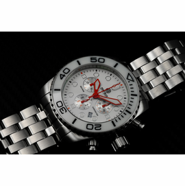 SEA RAM CHRONOGRAPH - WHITE/BLACK-ORANGE