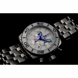 SEA RAM CHRONOGRAPH - WHITE/BLUE