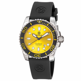Sea Ram Yellow Dial BLACK/YELLOW BEZEL