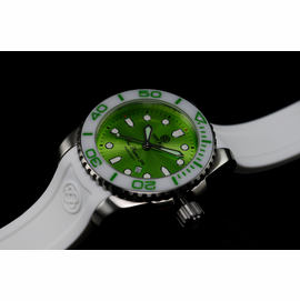 SEA RAMIC MINT GREEN SUNRAY DIAL 500 - SOLD OUT