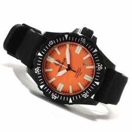 Sold Out - Day/Night 44.5mm PVD ORANGE  DIAL FLAT TUBES