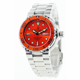 Sun Diver 3 1k Orange Sunray Dial