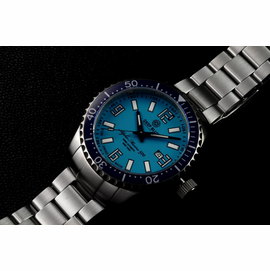 SWISS MADE ALPHA MARINE 500 T-100 TRITIUM - BLUE BLUE DIAL