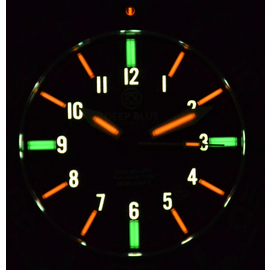 Tritium Orange Diver Lume