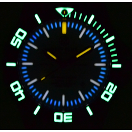White Dial lume Shot