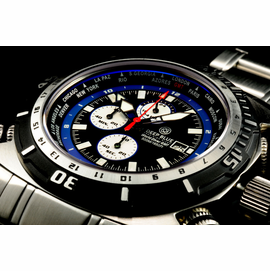 World Diver GMT 500 Black Blue