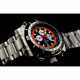 World Diver GMT 500 Black Orange