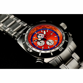 World Diver GMT 500 Orange Blue
