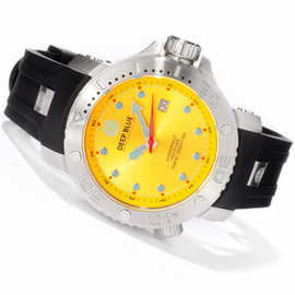 Yellow Juggernaut Quartz 1000m Diver Silicon