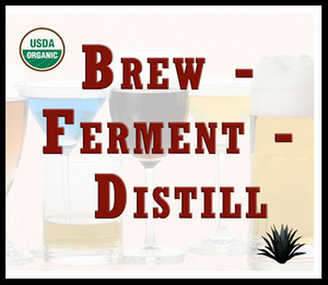 Brew Ferment Distill  .  Raw Bulk Brewing Agave's