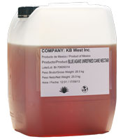 Bulk Raw Blue Agave Amber Extract (UWC-55)
