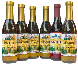 Custom 6-pack Flavored Agave Nectar (Free Shipping!)