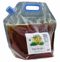 1 gallon Raw Bulk Agave w/ Free Shipping! $0.22 per oz.