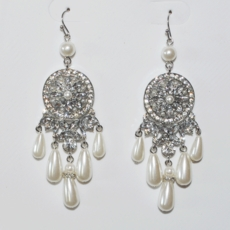 CAVALIER WEDDING EARRINGS