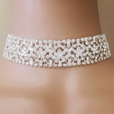 CHOKER DE HELEN RHINESTONE - SOLD OUT