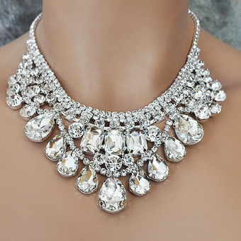 CLEOPATRA RHINESTONE JEWELRY SET - TEMP SOLD OUT