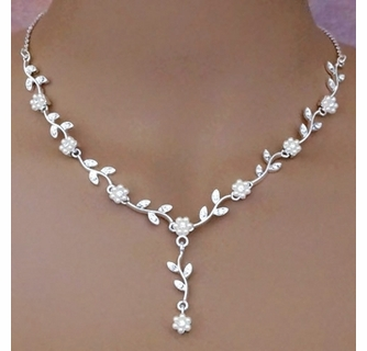 Flower Power Bridal Jewelry Set