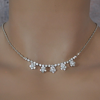 FLOWERGIRL FAUX PEARL JEWELRY SET