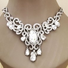 GLAM RHINESTONECLEAR  JEWELRY SET