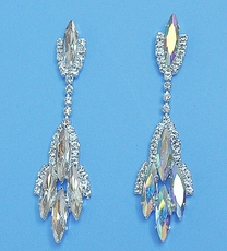 GLORIOUS RHINESTONE EARRINGS