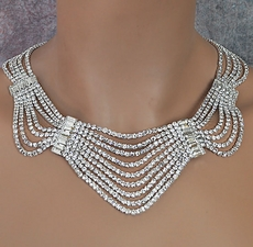 HOLLYWOOD TINSEL RHINESTONE JEWELRY SET - LIMITED SUPPLY