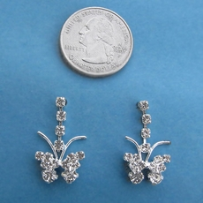 ITSY BUTTERFLY EARRINGS - TWO PAIR REMAINING