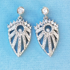 LILY RHINESTONE EARRINGS