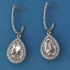 MAXIMILLION RHINESTONE EARRINGS*