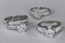 RINGS -CZ and Rhinestone