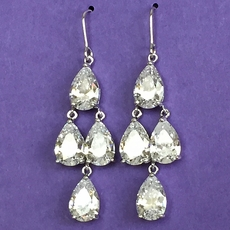 ROCK THE NIGHT CZ EARRINGS