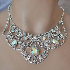 SHEER ELEGANCE AB-REFLECTIVE JEWELRY SET