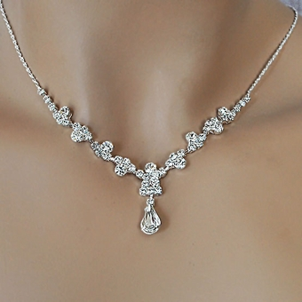 SIERRA RHINESTONE JEWELRY SET FOR FLOWER GIRLS OR BRIDESMAIDS
