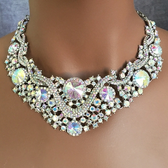 STAR ATTRACTION RHINESTONE JEWELRY SET - TEMP SOLD OUT