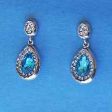 TOUCH OF AQUA EARRINGS