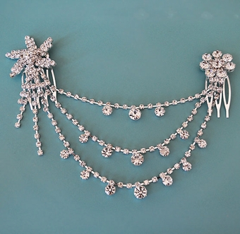 WEDDING HAIRCARE RHINESTONE HAIRCLIPS