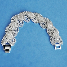 WOVEN CRYSTAL BRACELET - SOLD OUT