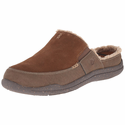 ACORN Men's Wearabout Slide with FirmCore - Chocolate Suede