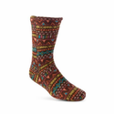 ACORN Versafit Fleece Socks - Batik Brown