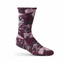 ACORN Versafit Fleece Socks - Katahdin Camo Wine