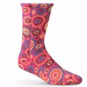 ACORN Versafit Fleece Socks - Pink Dots