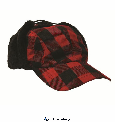 Artex Buffalo Plaid Hunting Cap