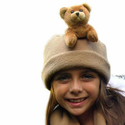 Bear Hands Brown Bear Fleece  Buddy Hat
