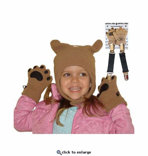 Bear Hands Toddler 3PC Winter Set