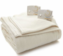 Biddeford Comfort Knit Fleece Heated Blanket - Queen