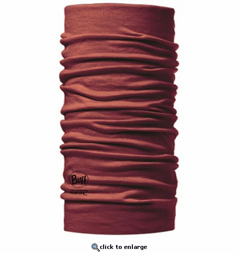Buff Lightweight Merino Wool - Brick