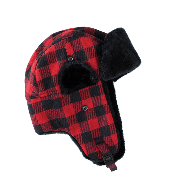 Artex Buffalo Plaid Aviator Winter Hat - The Warming Store 4f0f6c06dc2