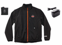 Ergodyne N-Ferno 6490 Outer Layer Heated Jacket with Removable Sleeves - Black