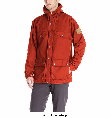 FjallRaven Men's Greenland Jacket - Autumn Leaf