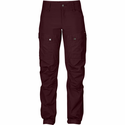 FjallRaven Women's Keb Trousers Regular - Dark Garnet